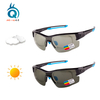 Photochromic Cycling Sunglasses with Optical Insert