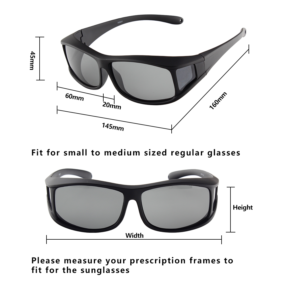 fashion men smoke driving sunglasses over glasses