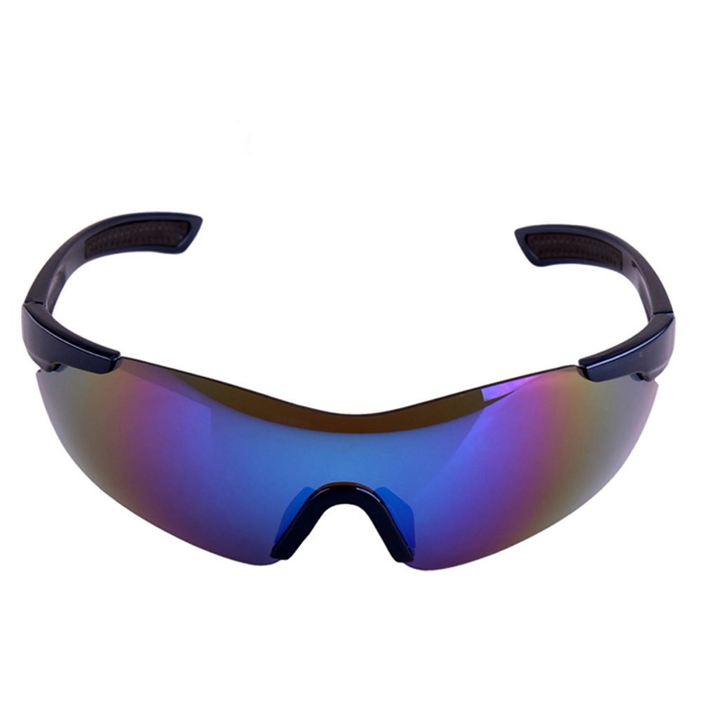 Blue Mirror Polarized Windproof Motorcycle Sunglasses