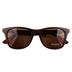 Brown Lightweight Retro Women's Sunglasses for Small Face