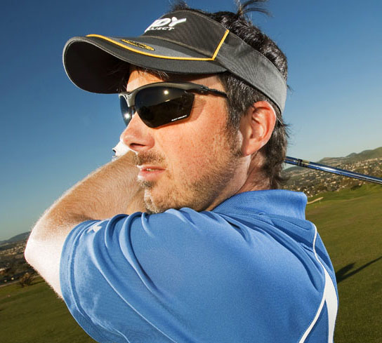 Are polarized lenses good for golf